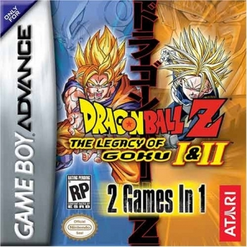 2 in 1 - Dragon Ball Z - The Legacy of Goku I & II  Game
