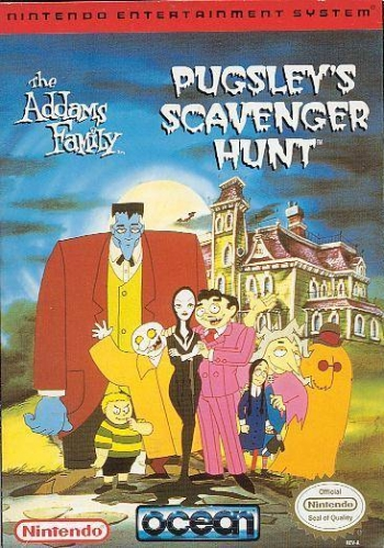 Addams Family, The - Pugsley's Scavenger Hunt  Game