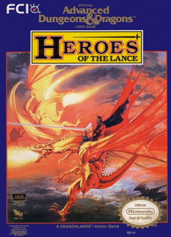 Advanced Dungeons & Dragons - Heroes of the Lance  Game