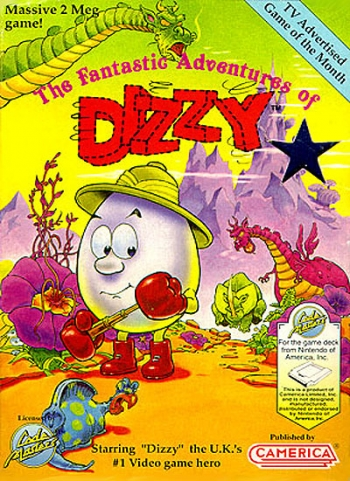 [Aladdin] Dizzy the Adventurer   Game