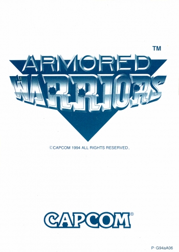 Armored Warriors  Game
