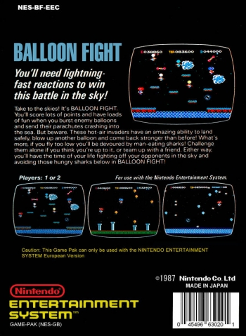 Balloon Fight  Game