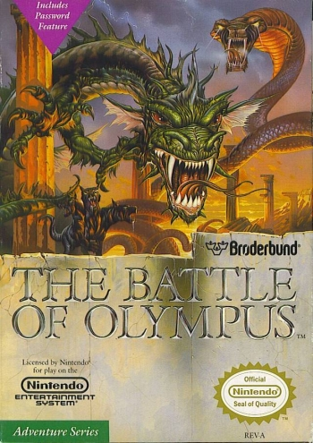 Battle of Olympus, The  Game