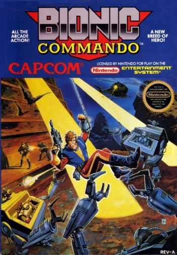 Bionic Commando  Game