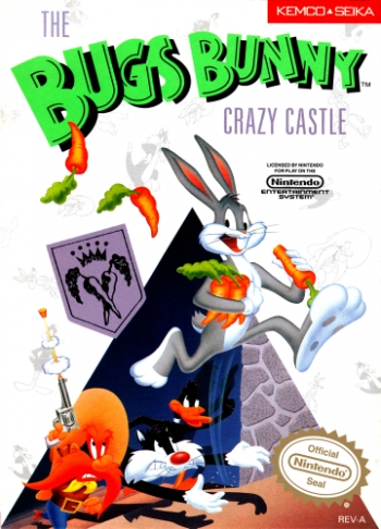 Bugs Bunny Crazy Castle, The  Game