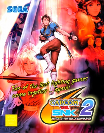 Capcom Vs. SNK 2 Millionaire Fighting 2001   Game