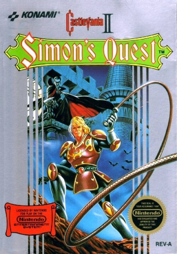 Castlevania II - Simon's Quest  Game