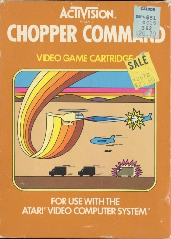 Chopper Command    Game