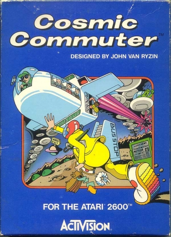 Cosmic Commuter    Game