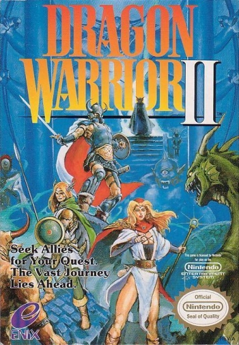 Dragon Warrior - Part II  Game