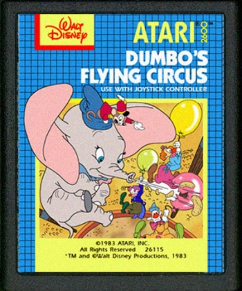 Dumbo's Flying Circus      Game