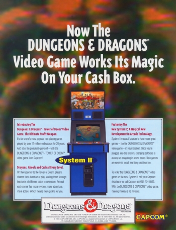Dungeons & Dragons: Tower of Doom  Game