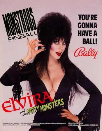 Elvira and the Party Monsters  Game