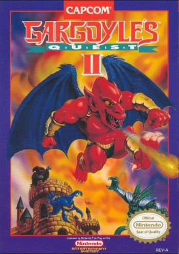 Gargoyle's Quest II - The Demon Darkness  Game
