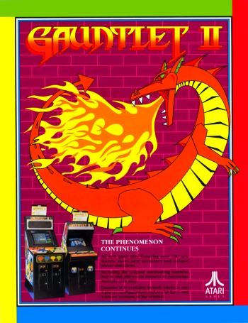 Gauntlet II Game