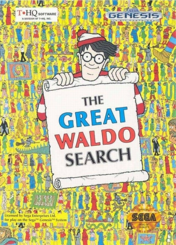 Great Waldo Search, The  Game