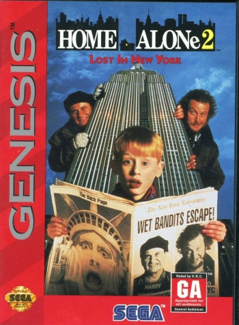 Home Alone 2 - Lost in New York  Game