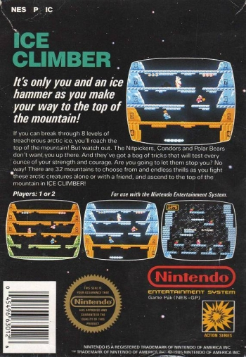 Ice Climber  Game