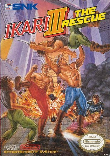 Ikari III - The Rescue  Game