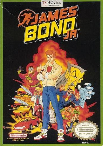 James Bond Jr  Game