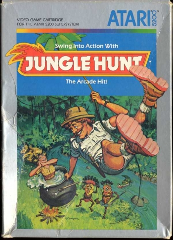 Jungle Hunt   Game