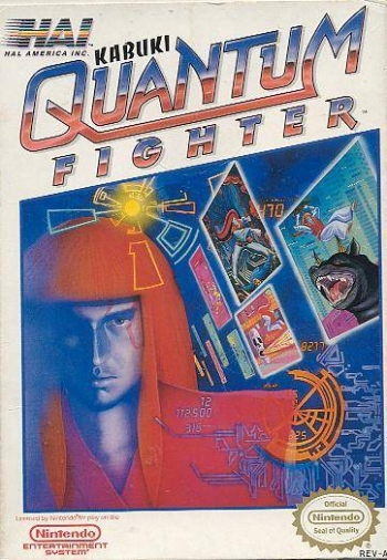 Kabuki - Quantum Fighter  Game