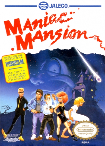 Maniac Mansion  Game