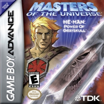 Masters of the Universe - He-Man - Power of Grayskull  Game