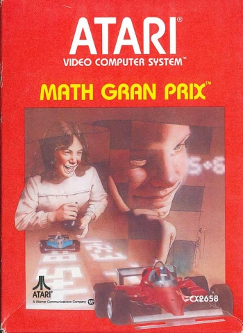 Math Gran Prix     Game