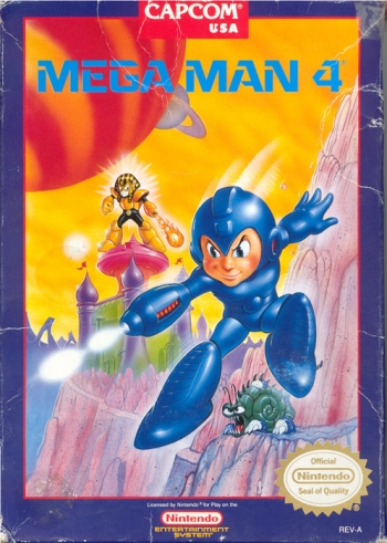Mega Man 4  Game