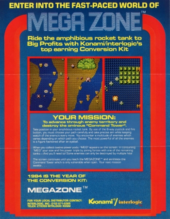 Mega Zone  Game
