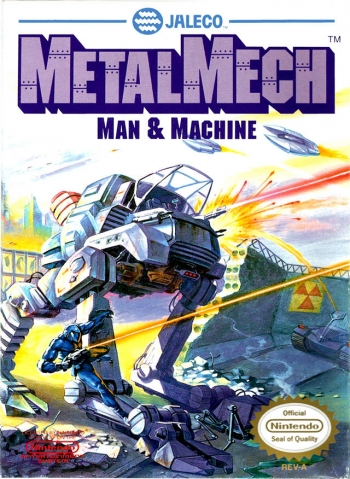 Metal Mech - Man & Machine  Game