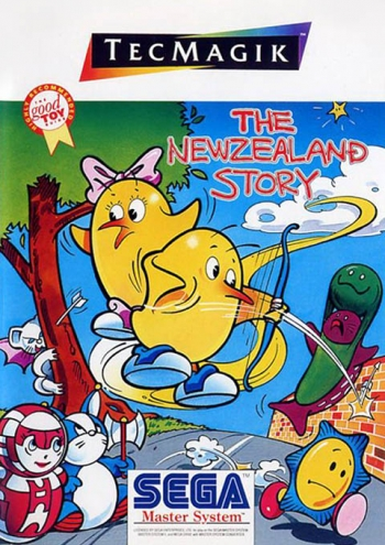New Zealand Story, The  Game