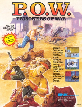 P O W  - Prisoners of War (US version 1) ROM Download - Free Mame