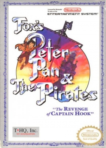 Peter Pan & The Pirates - The Revenge of Captain Hook  Game