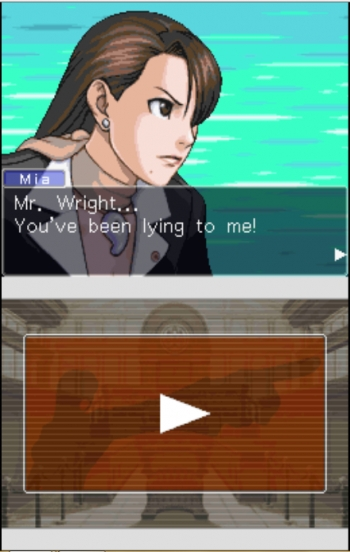 Phoenix Wright - Ace Attorney - Trials and Tribulations  Game