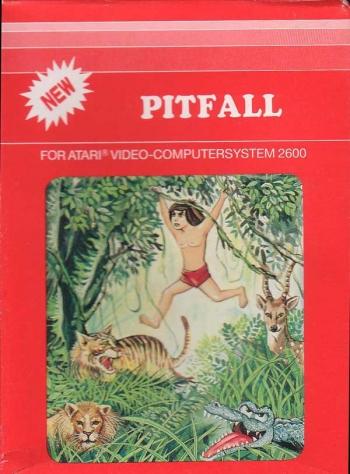 Pitfall! - Pitfall Harry's Jungle Adventure (1982