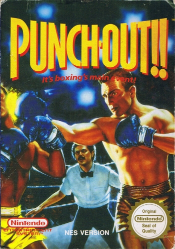 Punch-Out!!  Game