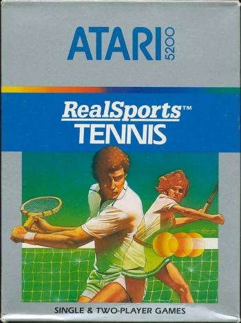 Realsports Tennis   Game