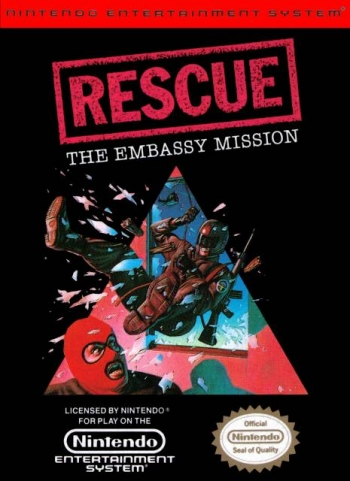 Rescue - The Embassy Mission  Game