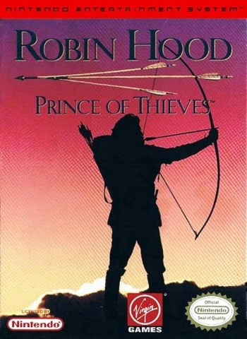 Robin Hood - Prince of Thieves  Game