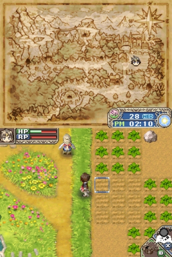 Rune Factory - A Fantasy Harvest Moon  Game