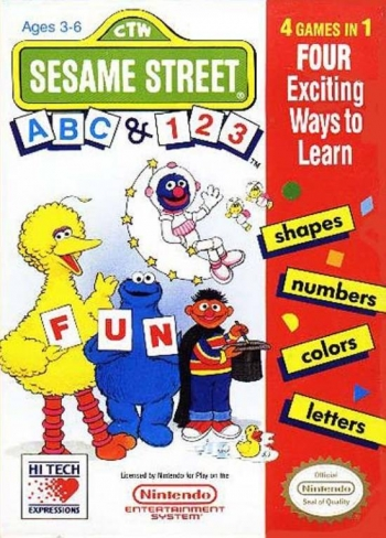 Sesame Street ABC & 123  Game