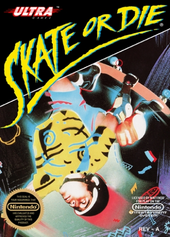 Skate or Die!  Game