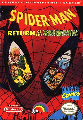 Spider-Man - Return of the Sinister Six  Game