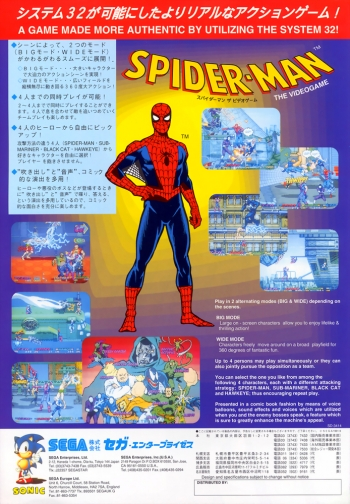 Spider-Man: The Videogame  Game