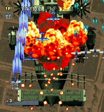 Strikers 1945 II (E) ISO[SLES-03510] ROM Download - Free PS