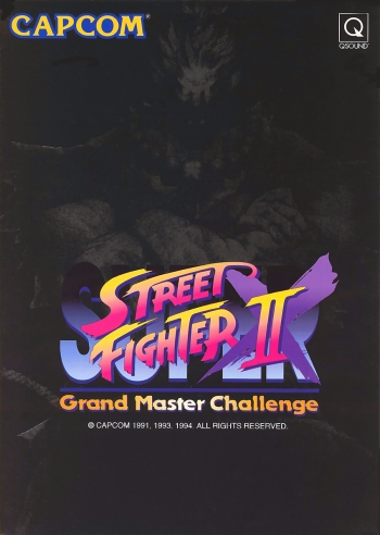 Super Street Fighter II X: Grand Master Challenge  Game