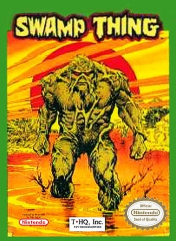 Swamp Thing  Game