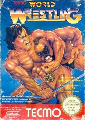 Tecmo World Wrestling  Game